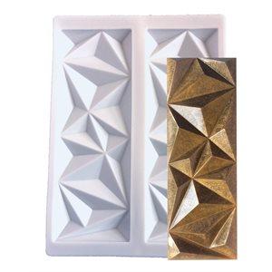Geometric Silicone Baking-Decorating Impression Mat