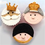 Crowns Silicone Mold By Katy Sue