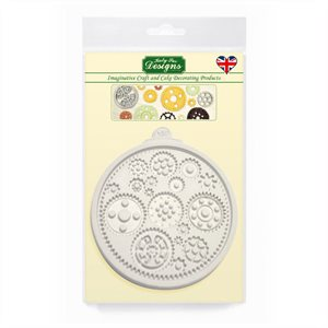 Cogs & Wheels Silicone Mold By Katy Sue