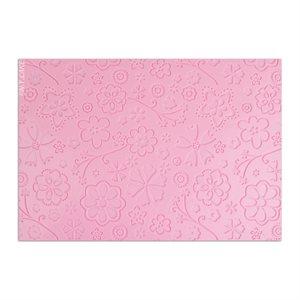 Floral Design Impression Mats--Small