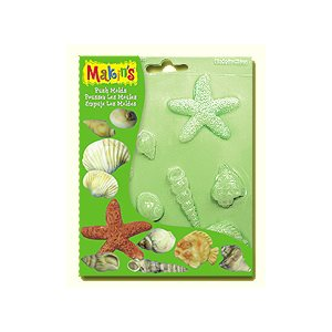 Sea Shells Fondant Push Mold