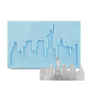 NY Skyline Silicone Mold