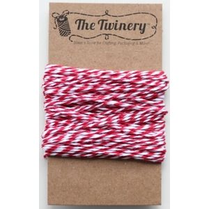 Maraschino Red Twine Mini Bundle 15 Yards
