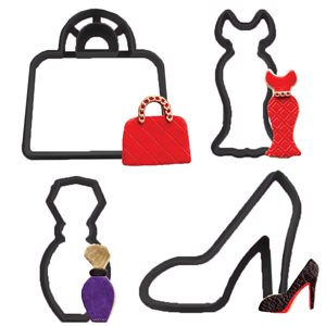 Fashionista Cookie Cutter Set