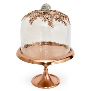 """NY Cake Rose Gold Royal Dome Stand 12"""""""