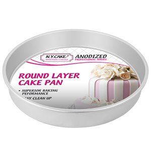 Round Cake Pan 12 by 2 Inch Deep