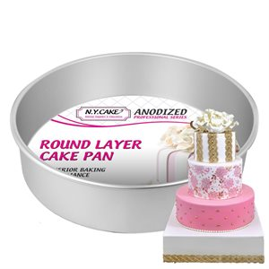 Round Cake Pan 12 by 3 Inch Deep