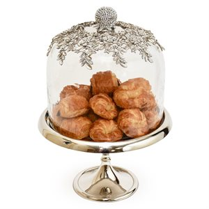 """NY Cake Silver Royal Dome Stand 12"""""""