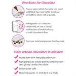 Violin Polycarbonate Chocolate Mold