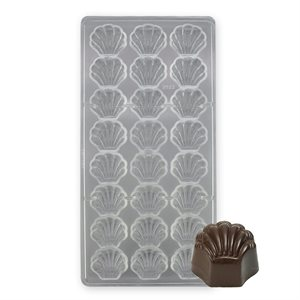 Sea Shell Polycarbonate Chocolate Mold
