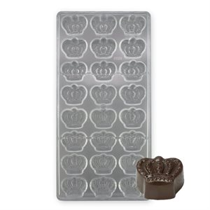 Crown Polycarbonate Chocolate Mold