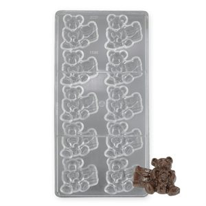 Bear with Barrel Polycarbonate Chocolate Mold