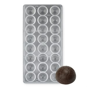 Soccer Ball Polycarbonate Chocolate Mold
