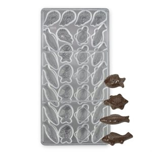 Sea Animals 2 Polycarbonate Chocolate Mold