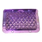 3D Quilted Designer Purse Handbag Polycarbonate Chocolate Mold