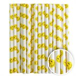 Smiley Face Cake Pop Sticks- 6 Inch -Pack of 25