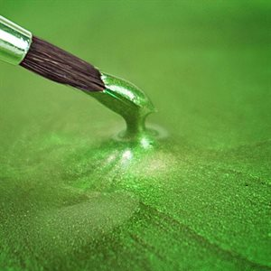 Spring Green Edible Food Paint By Rainbow Dust