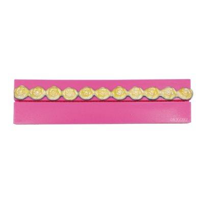 Rose Border Bead Mold 19 mm