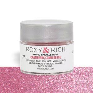 Cranberry Edible Hybrid Sparkle Dust By Roxy Rich 2.5 gram