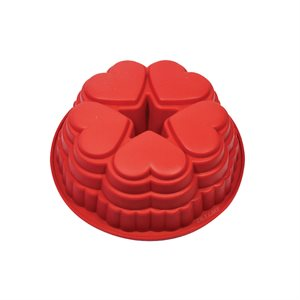 Heart Bundt Silicone Baking Mold
