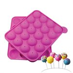 Standard Cake Pop Silicone Baking Mold