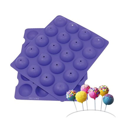 Bite Size Cake Pop Silicone Baking Mold