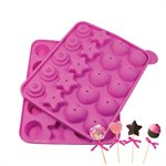 Assorted Cake Pop Silicone Baking Mold