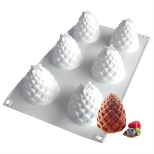 Pine Cone Silicone Baking & Freezing Mold 1 oz.