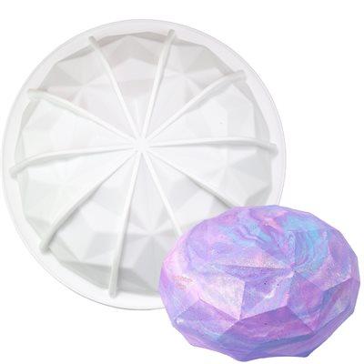 Large Gem Hemisphere Silicone Baking Mold 1 Cavity
