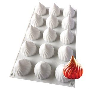 Fancy Kiss Silicone Baking & Freezing Mold 1 oz.