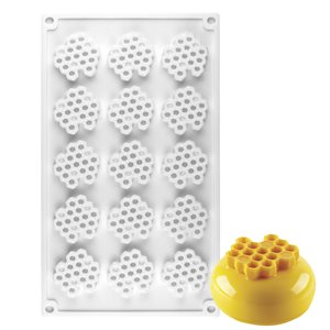 Honeycomb Silicone Baking Mold 15 Cavity