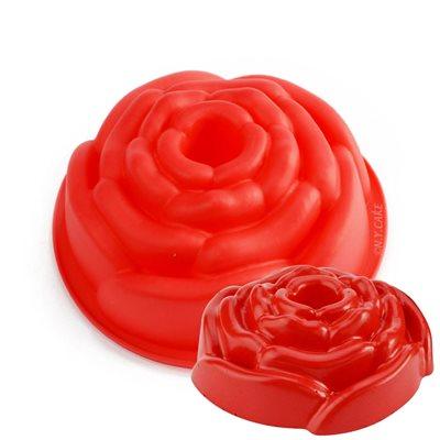 Mini Rose Bundt Silicone Baking Mold