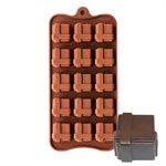Square Gift Box Silicone Chocolate Mold