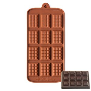 Breakaway Bar Silicone Chocolate Mold