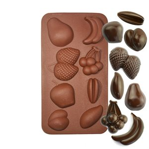 Fruit Silicone Chocolate Mold