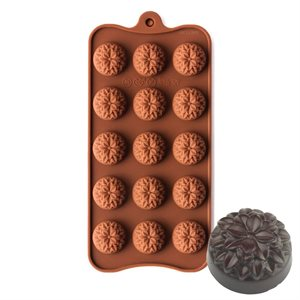 Dahlia Flower Silicone Chocolate Mold