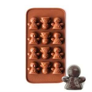 Robot Mood Silicone Chocolate Mold