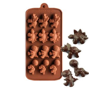 Dinosaurs Silicone Chocolate Mold