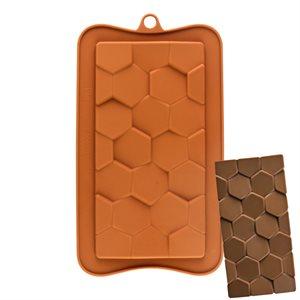 Hexagon Bar Silicone Chocolate Mold