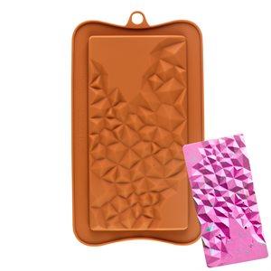 Crystal Bar Silicone Chocolate Mold