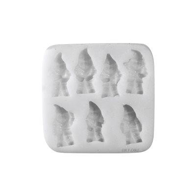 Seven Dwarfs Silicone Fondant Mold