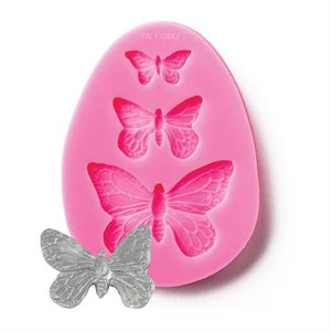 Butterfly Accent Silicone Mold