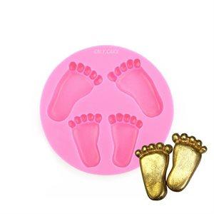 Baby Feet Silicone Fondant Mold