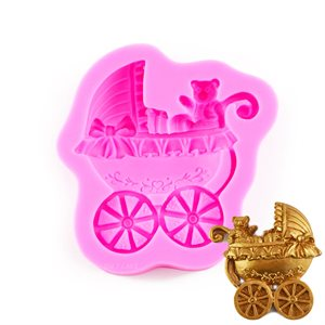 Baby Carriage Silicone Mold