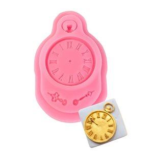 Clock Silicone Mold