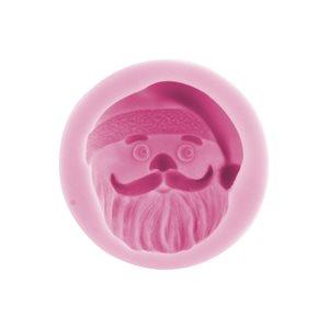 Santa Claus Face #1 Silicone Mold