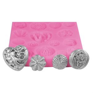 Button Set Silicone Fondant Mold