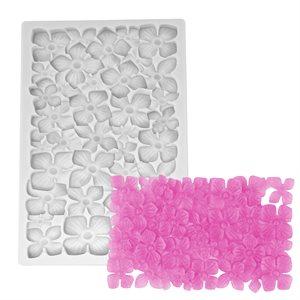 Hydrangea Cluster Silicone Mold