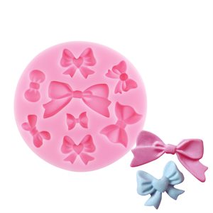 Assorted Bows Silicone Mold