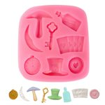 Alice In Wounderland Theme Silicone Mold-8 Cavity